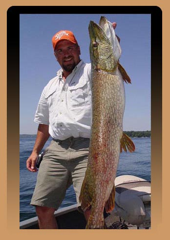 Jim Tostrud, Fishing Guide Service on Lake Geneva, Wisconsin