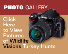 Click here to vire Turkey hunting photos